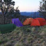 Eagle Peaks 12 - Camp site just below Eagle Peaks