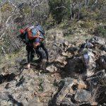 Eagle Peaks 27 - Little bit of rock scrambling on day 2