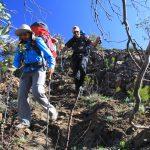 Eagle Peaks 28 - Walking the ridge line over Eagle Peaks on day 2