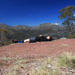 The Crosscut Saw 15 - lunch time snooze on day 1