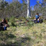 The Crosscut Saw 5 - a short break after a steep ascent to Mt Thorn on day 1 (2)