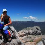 The Crosscut Saw 52 - on top of Mt Cobbler