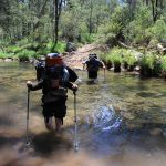 The Crosscut Saw 60 - crossing King River on day 4