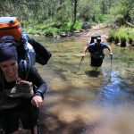 The Crosscut Saw 61 - crossing King River on day 4