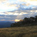 Two Peaks 13 - View of Mt Timbertop from Mt Buller